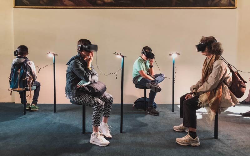 Virtual Reality (VR) can provide immersive interactive experiences for users in virtual environments making tourism more accessible to people with political mobility barriers.