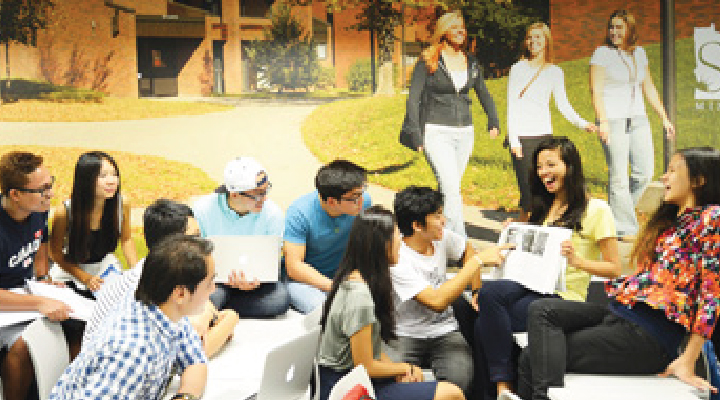 ADP students participate in group activities
