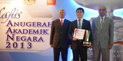 Taylor's E-Learning team bring home gold in Anugerak Akademik Negara