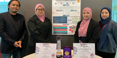 Taylor's E-learning team was awarded as Gold Medal Recipients & BEST MOOC Award in eConDev 2019